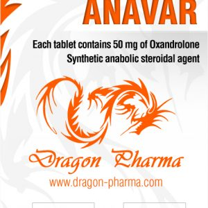 Anavar 50 Dragon Pharma