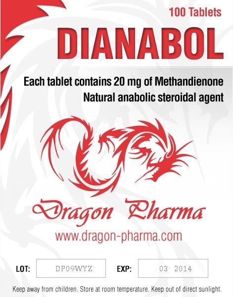 Dianabol 20 Dragon Pharma