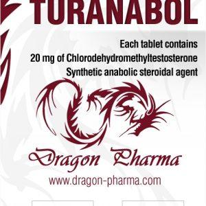 Turanabol 20 Dragon Pharma
