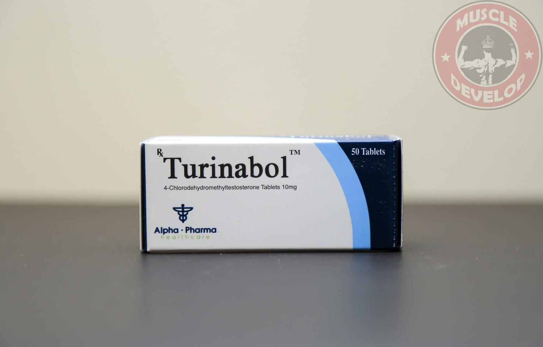 Turinabol 10 Alpha Pharma