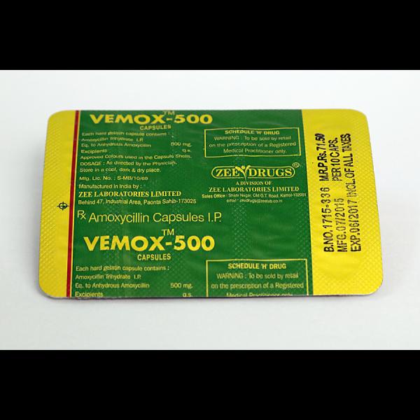 Vemox 500 Zee Drugs